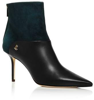 Jimmy Choo Women's Beyla 85 High-Heel Ankle Booties