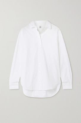 Totême Capri Cotton-poplin Shirt - White