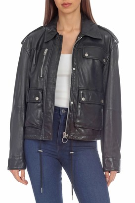 Bagatelle Leather Army Jacket
