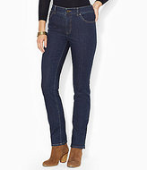 Lauren Ralph Lauren Super Stretch Slimming Heritage Straight Jean