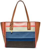 Fossil Emma Striped Tote