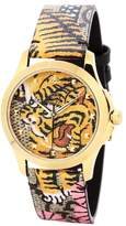 Gucci Bengal-print watch