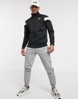 Puma Iconic MCS track jacket in black