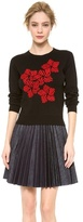 J.W.Anderson Floral Embroidery Sweater