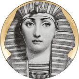 "Fornasetti Egyptian Headdress"" Plate"