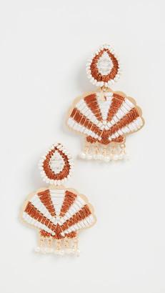 Mercedes Salazar Shell Earrings