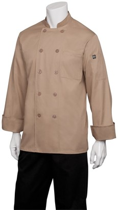 Chef Works Men's Basic Chef Coat (CCBA)