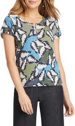 Nic+Zoe Plus Size Canopy Short-Sleeve Tee