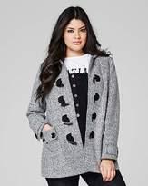 Fashion World Tweed Duffle Coat Length 28ins
