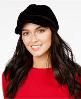 Nine West Velvet Newsboy Cap