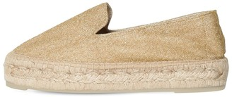 Manebi 40MM LAME FABRIC ESPADRILLES