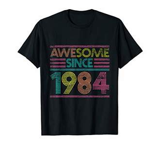 Awesome Since 1984 35th Birthday Gifts 35 Years Old T-Shirt