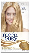 Clairol Nice 'n Easy Hair Color 098, 9.5 Natural Extra Light Neutral Blonde 1 Kit (Pack of 3)
