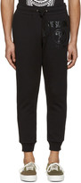 Moschino Black Logo Lounge Pants
