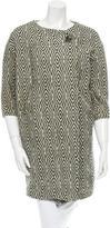 Isabel Marant Printed Wool Coat
