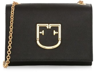 Furla Mini Viva Leather Crossbody Bag