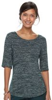 Apt. 9 Women's Essential Elbow-Sleeve Tee