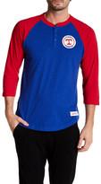 Mitchell & Ness MLB Rangers Unbeaten Henley Shirt