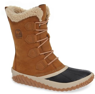 Sorel Out N About Faux Shearling Lined Tall Waterproof Boot