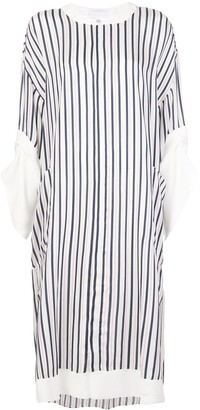 Roland Mouret Dove striped dress