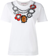 Comme des Garcons printed T-shirt - women - Cotton - XS