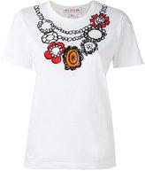Comme des Garcons printed T-shirt - women - Cotton - XS