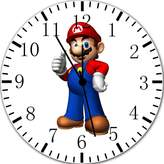 "Ikea New Super Mario Bros Wall Clock 10"" Will Be Nice Gift and Room Wall Decor Y04"
