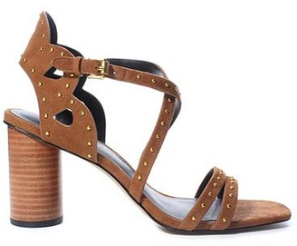 Rebecca Minkoff Adeleine Stud Block Heel Sandal