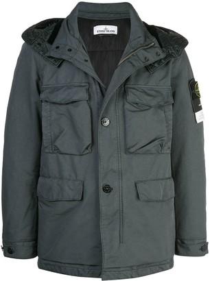 Stone Island short cargo-style coat