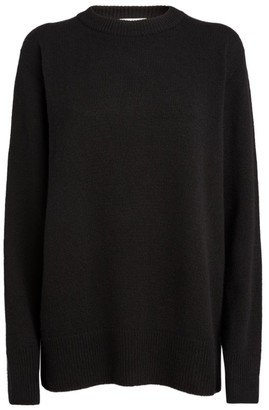The Row Wool-Cashmere Sibem Sweater