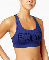 Puma Pwrshape Logo Medium-Support Sports Bra