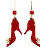 Butler & Wilson Butler and Wilson Red Stiletto Earrings