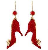 Butler & Wilson Butler and Wilson Red Stiletto Earrings