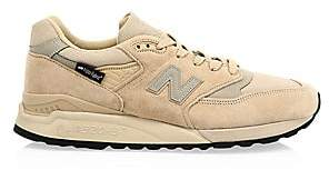 New Balance Men's Men's 990 Made USA Suede Sneakers