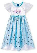 Frozen Disney Princess Elsa Toddler Girls' Nightgown Blue