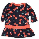 Little Marc Jacobs Baby's Rockabilly Allover Cherry Printed Dress