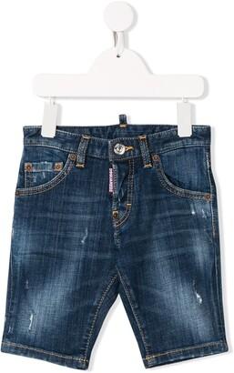 DSQUARED2 Slim-Fit Denim Shorts