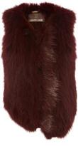 Roberto Cavalli Sleeveless Fur Vest