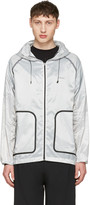 Isaora Grey Xytlite Running Windbreaker Jacket