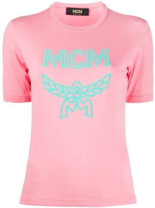 MCM crew-neck logo T-shirt