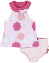 Magnificent Baby 'Sasha' Sundress & Bloomer Set (Baby) - Pink-9 Months