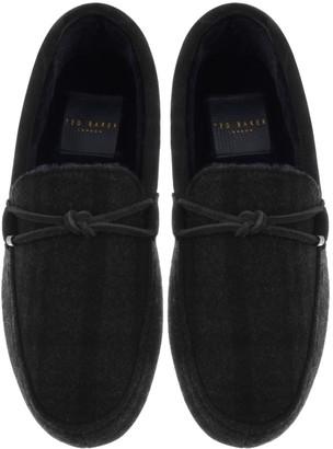 Ted Baker Merinol Slippers Grey