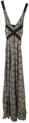 I.D. Sarrieri Black Silk Dresses