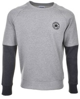 Converse Colour Block Sweatshirt Grey