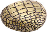 L'OBJET Crocodile Gold Paper Weight