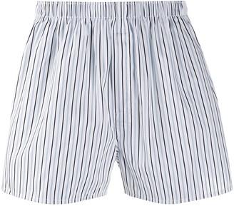 Sunspel Dobby striped boxers