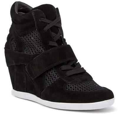 Ash Bowie Suede Mesh Wedge Sneaker
