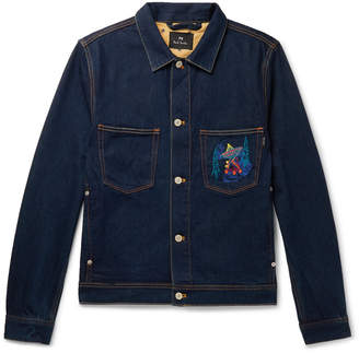 Paul Smith Embroidered Denim Jacket