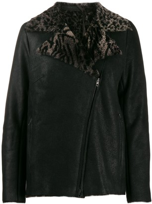Salvatore Santoro shearling-lined jacket