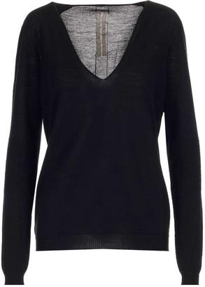 Rick Owens V-Neck Knit Sweater